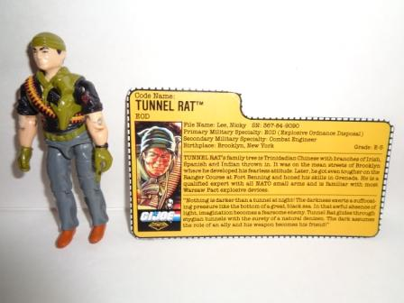 Tunnel Rat (v2) (1988) w/ Card - G.I. Joe